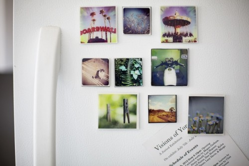 simple photo magnets (via content)