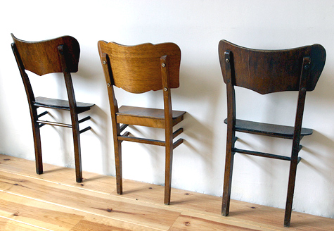 Turning Chairs Into Coat Hooks