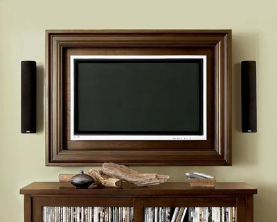Blend tv with interior