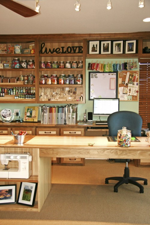 Ultimate Crafts Room Organization