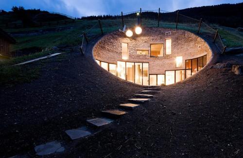 Modern Underground Home In Switzerland