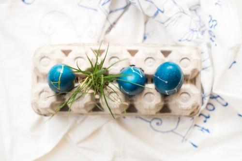 Unique DIY Constellation Easter Eggs