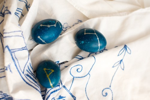 Unique DIY Constellation Easter Eggs