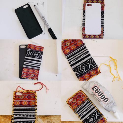 Unique Diy Tapestry Iphone Case