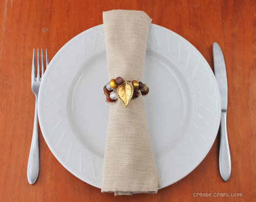 Unique Diy Thanksgiving Napkin Ring