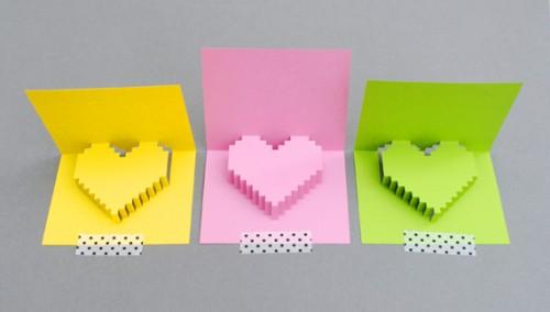 pixely popup card (via minieco)