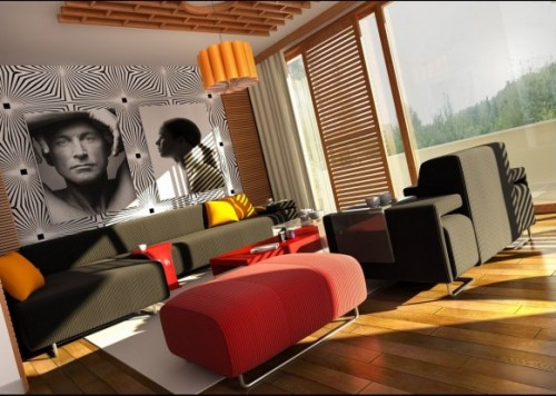 Unusual And Creative Living Room Ideas Part 36