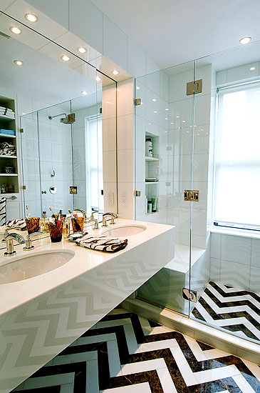 15 unusual bathroom floor ideas shelterness for Quirky bathroom designs