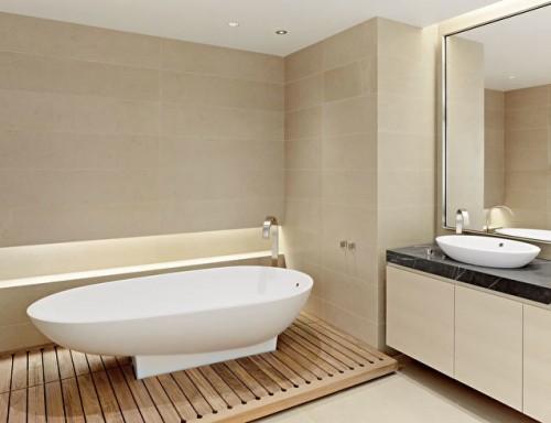 Unusual Bathroom Floors