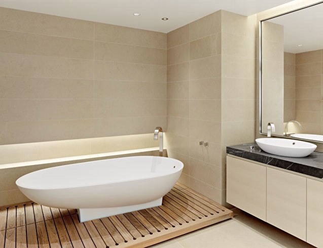 Picture of unusual bathroom floors for Unusual bathroom flooring