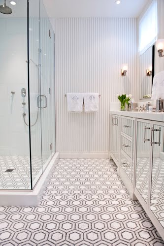 Unusual Bathroom Floors