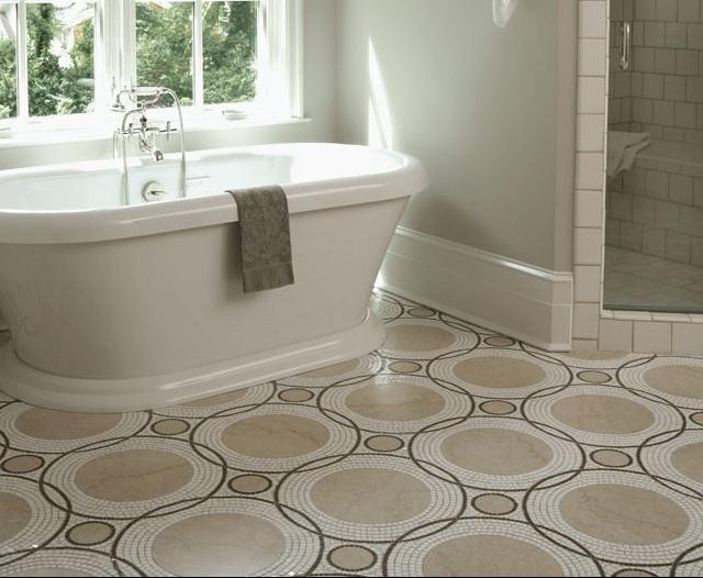 15 unusual bathroom floor ideas 187 photo 5