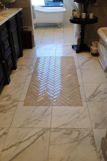 Unusual Bathroom Floors Shelterness