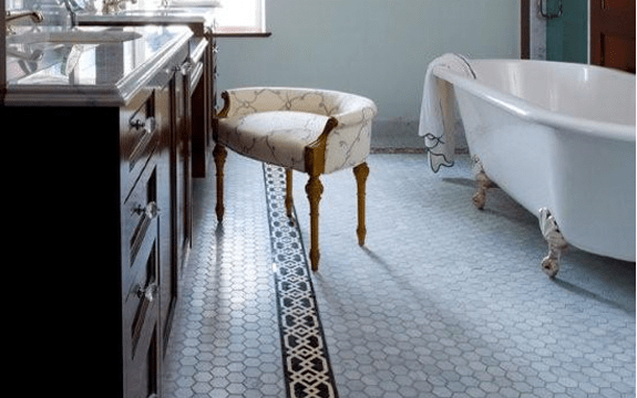 15 unusual bathroom floor ideas 187 photo 8