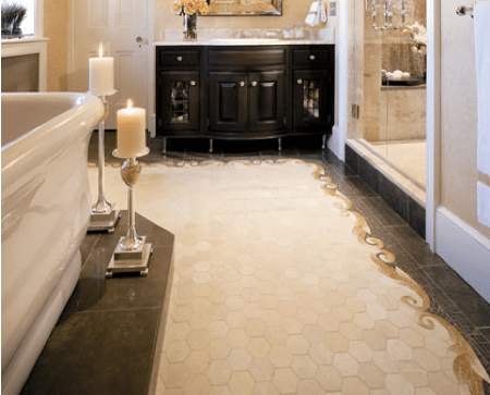 15 Unusual Bathroom Floor Ideas - Shelterness