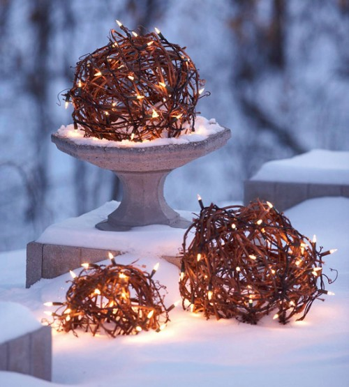 Unusual Uses Of Christmas Lights