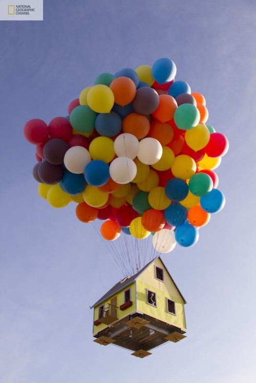 Real Life Flying House Inspired By Up Movie