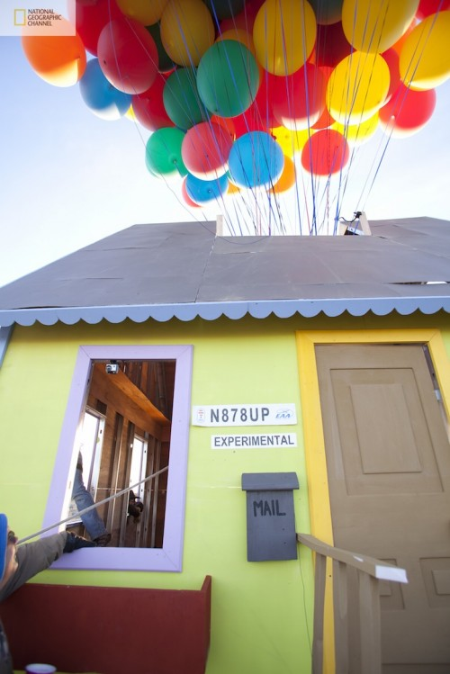 Up Insired Real House