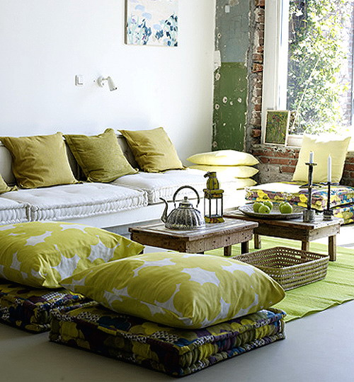Floor Lounge Pillows : 57 Cool Ideas To Decorate Your Place With Floor Pillows - Shelterness