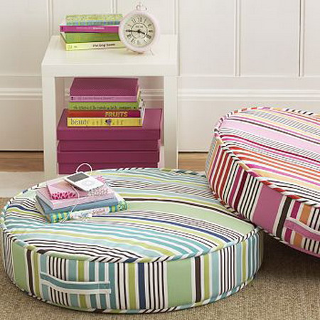 decorating with floor pillows. Using Floor Pillows In Interior Decorating With N