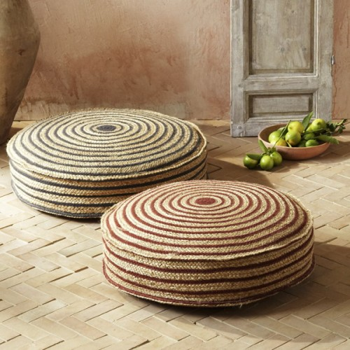 57 cool ideas to decorate your place with floor pillows - Cojines grandes para suelo ...