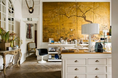 40 Ideas Of Using Gold In Interior Decorating