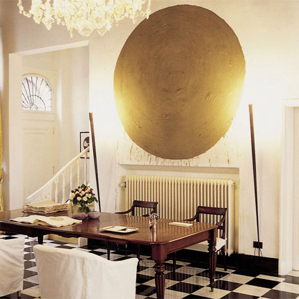 Ideas Of Using Gold In Interior Decorating