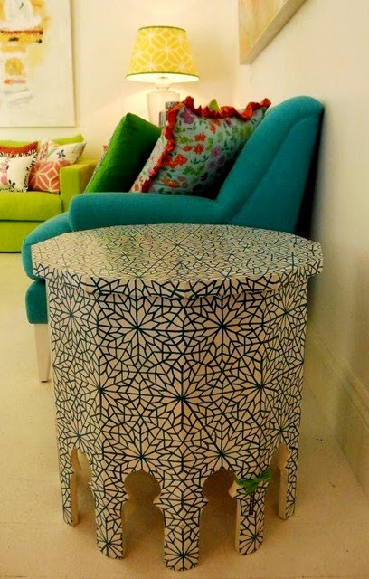 Using Marrocan Sidetables In Interior Decorating