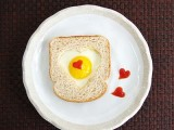 DIY Valentine's Day toast