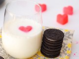 DIY heart milk cubes