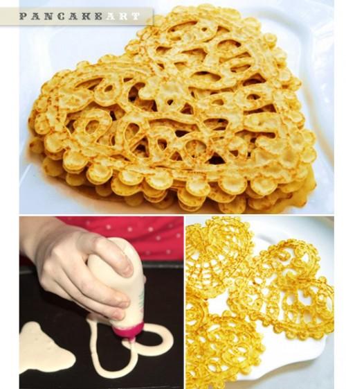 DIY pancake doodles (via moredesignplease)