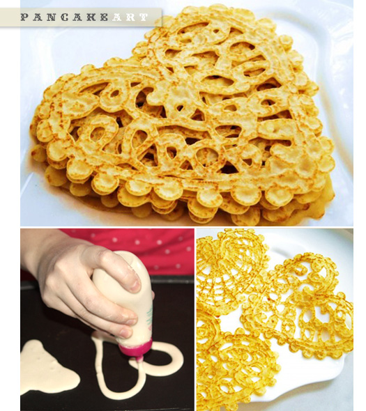 DIY pancake doodles
