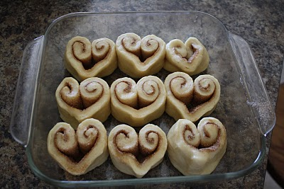 DIY cinnamon rolls