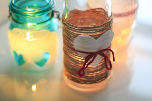 Valentine's Day Candle Votives