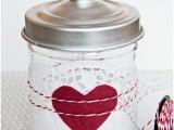 DIY Valentine's Day cookies jar