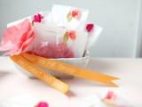 DIY mini crepe paper flowers