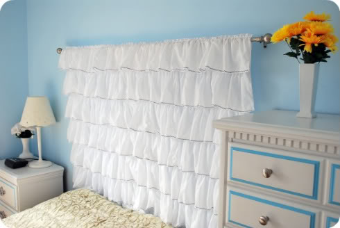 6 Various DIY Fabric Headboards To Make