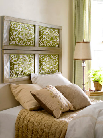shutter headboard (via bhg)
