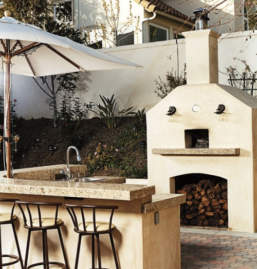cool outdoor oven