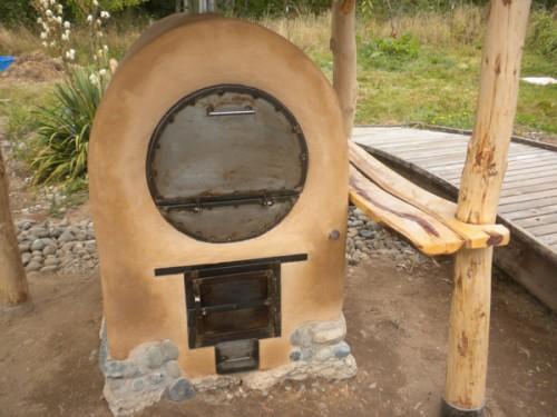 barrel outdoor oven