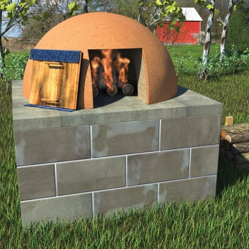 backyard bread oven (via grit)