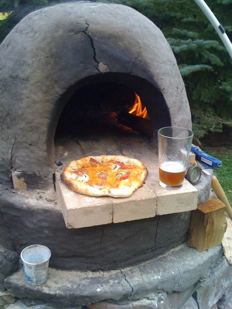 outdoor dome oven