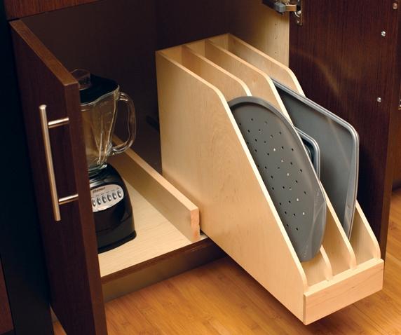 Vertical Tray Storage