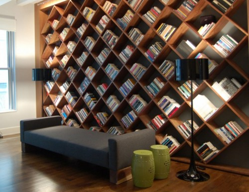 Really Big and Unusual Bookcase