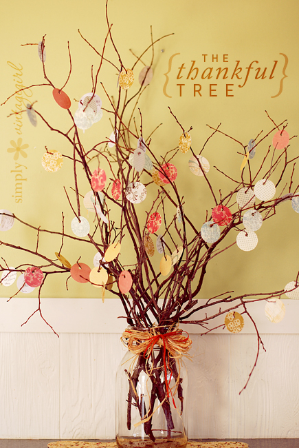 Very Cute Thankful Tree