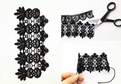 Very Sexy Diy Lace Jewelry