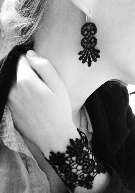 Very Sexy Diy Lace Jewelry