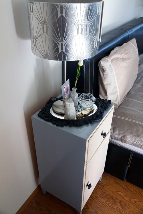 Very Simple DIY IKEA Bedside Table Hack