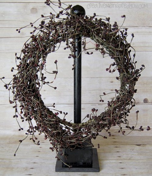 Very Simple Diy Wreath Hanger