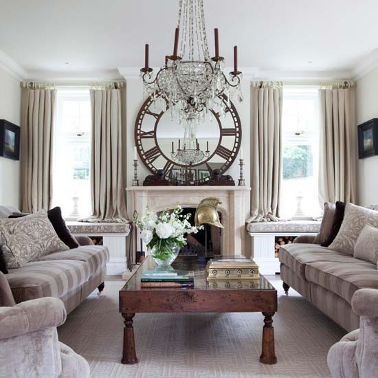 cool ideas to use vintage clocks to decorate your interior photo 24